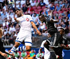 CANADA-VANCOUVER-FOOTBALL-CANADIAN CHAMPIONSHIP-SEMIFINAL-VANCOUVER WHITECAPS FC VS MONTREAL IMPACT