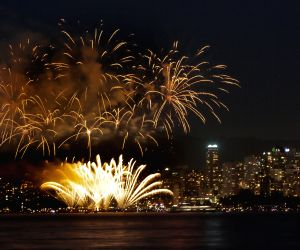 CANADA-VANCOUVER-CELEBRATION OF LIGHT