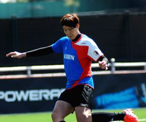 CANADA VANCOUVER FIFA WOMEN'S WORLD CUP JAPAN TRAINING
