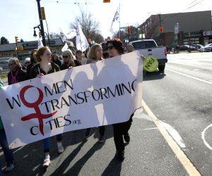 CANADA VANCOUVER WOMEN'S DAY PARADE