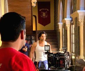 Varun Dhawan's misses being on set