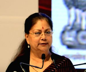 Is Raje planning to float new party?