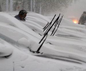 CHINA SHANDONG YANTAI SNOWSTORM