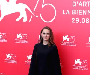 """VENICE, Sept. 4, 2018 - Actress Natalie Portman attends """"Vox Lux"""" photocall during the 75th Venice International Film Festival in Venice, Italy, Sept. 4, 2018."""