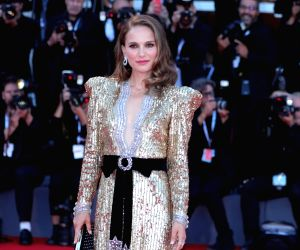 """VENICE, Sept. 4, 2018 - Actress Natalie Portman attends the premiere of the film """"Vox Lux"""" at the 75th Venice International Film Festival in Venice, Italy, on Sept. 4, 2018."""