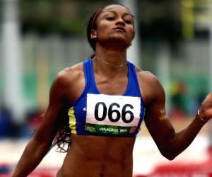 Veracruz (Mexico): 2014 Veracruz Central American and Caribbean Games -  women's 400m hurdles competition