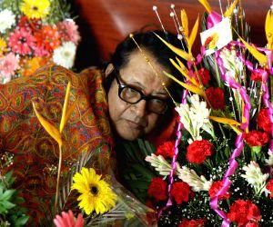 Manoj Kumar snapped on his 77th birthday