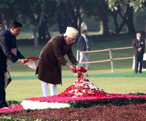 96th birth anniversary celebrations of former Prime Minister Indira Gandhi