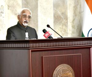 Yerevan (Armenia): Hamid Ansari at Yerevan State University