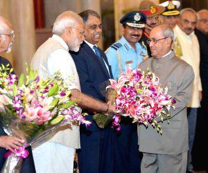 President Mukherjee leaves for Nepal