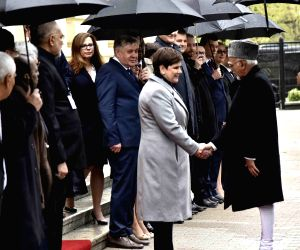 Hamid Ansari meets Poland PM Beata Szydlo