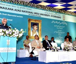 Hamid Ansari delivers the first Mohammad Quli Qutub Shah Memorial Lecture
