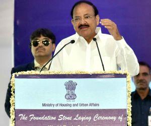 Venkaiah Naidu inaugurates World Trade Center at Nauroji Nagar