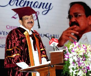 First Graduation Day function - Venkaiah Naidu