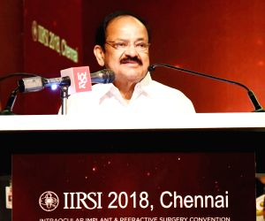 Venkaiah Naidu at 32nd Intraocular Implant and Refractive Surgery Convention 2018