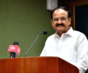 Venkaiah Naidu at the launch of Krea University