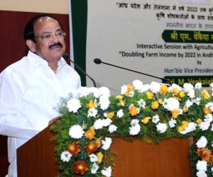 Interactive session with agricultural researchers - Venkaiah Naidu