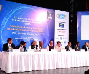 Venkaiah Naidu, Suresh Prabhu at 21st ICSME