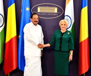 Venkaiah Naidu meets Romanian PM
