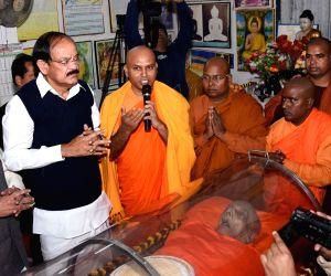 Venkaiah Naidu pays tribute to Bhadant Pragyanand
