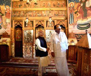 Sinaia (Romania): Venkaiah Naidu visits Sinaia Monastery