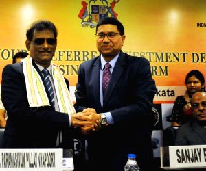 Mauritian Vice President during a programme