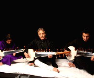 : Video Shoot Of Sarod maestro Amaan Ali Khan  and Ayaan Ali Khan