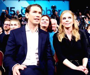 AUSTRIA VIENNA SEBASTIAN KURZ ELECTION CAMPAIGN