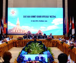 LAOS-VIENTIANE-EAST ASIA SUMMIT SENIOR OFFICIALS' MEETING