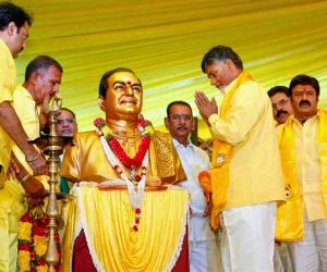 Modi survives on publicity: Chandrababu Naidu