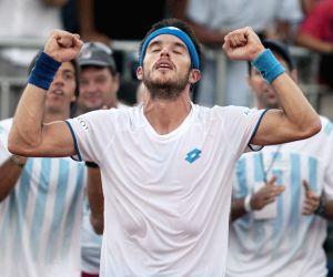 ARGENTINA VILLA MARTELLI TENNIS DAVIS CUP