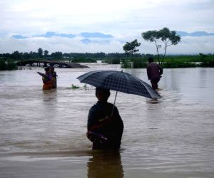 Floods in Dotma block of Kokrajhar