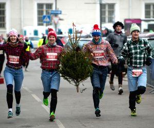 LITHUANIA VILNIUS CHRISTMAS RACE