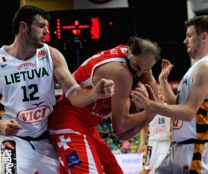 Lithuania v/s Georgia during the FIBA Basketball World Cup 2014