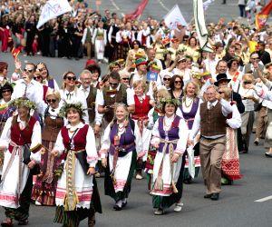 LITHUANIA VILNIUS SONG FESTIVAL SONG DAY