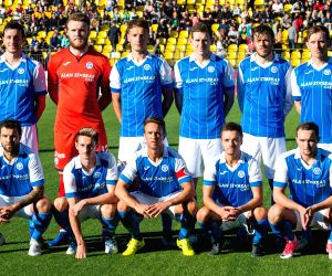 LITHUANIA-VILNIUS-SOCCER-EUROPA LEAGUE QUALIFIER-FK TRAKAI VS ST. JOHNSTONE
