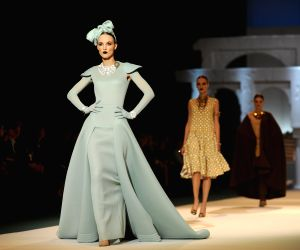 Vilnius (Lithuania): Spring-summer 2015 fashion show in Lithuania