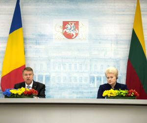 LITHUANIA VILNIUS PRESIDENTS MEETING