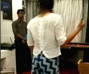 Viral video shows Sushant's sister Priyanka scolding staff over money transfer