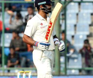 New Delhi:  4th Test Match - India vs South Africa - Day 3
