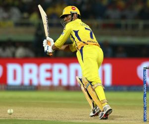 Visakhapatnam: Chennai Super Kings' skipper MS Dhoni in action during the 2nd Qualifier match of IPL 2019 between Chennai Super Kings and Delhi Capitals at Dr. Y.S. Rajasekhara Reddy Cricket Stadium in Visakhapatnam, on May 10, 2019. (Photo: Surjeet