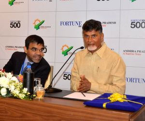 Andhra CM visits Vishakahapattanam