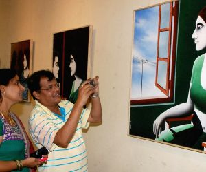 Painting and Graphics Exhibition organized by Reality Art Group