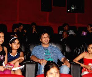Vivek Oberoi promotes 'Price' at Fame at Andheri in Mumbai.