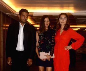 Priyanka and Nick's engagement party - Anusha Dandekar