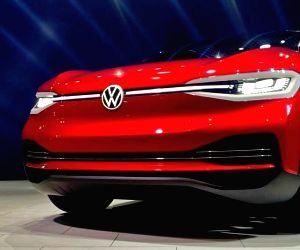 Free Photo: Volkswagen unveils concept EV 'ID CROZZ' at Auto Expo