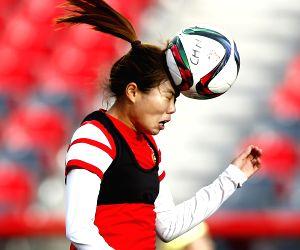 CANADA OTTAWA FIFA WOMEN'S WORLD CUP QUARTERFINALS TRAINING CHINA