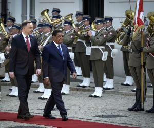 POLAND WARSAW ETHIOPIA PRESIDENT VISIT