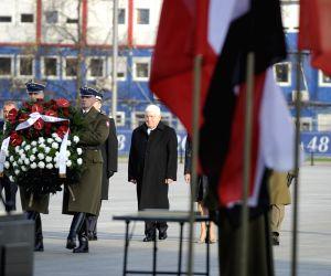 POLAND WARSAW IRAQI PRESIDENT VISIT