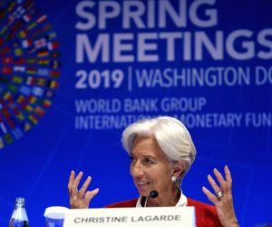 PAKISTAN-QUETTA-BLASTU.S.-WASHINGTON-IMF-CHRISTINE LAGARDE-PRESS CONFERENCE